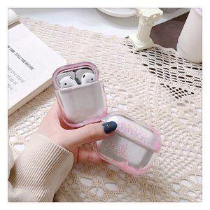 Glitter Liquid Quick Sand Airpods 1 2 Pro case